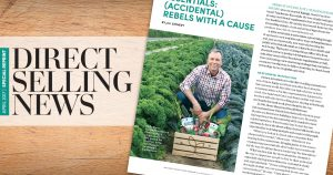 Spotlight on Touchstone Essentials in Direct Selling News Magazine