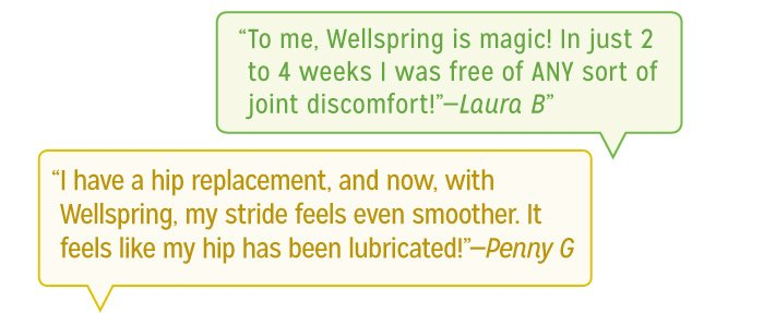 To me, Wellspring is magic!